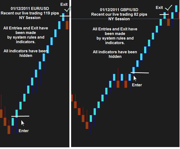 Median renko trading system