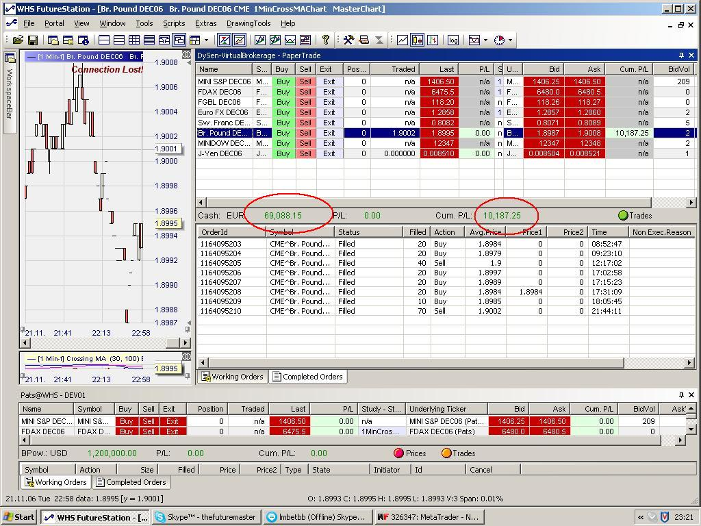 Trading system r