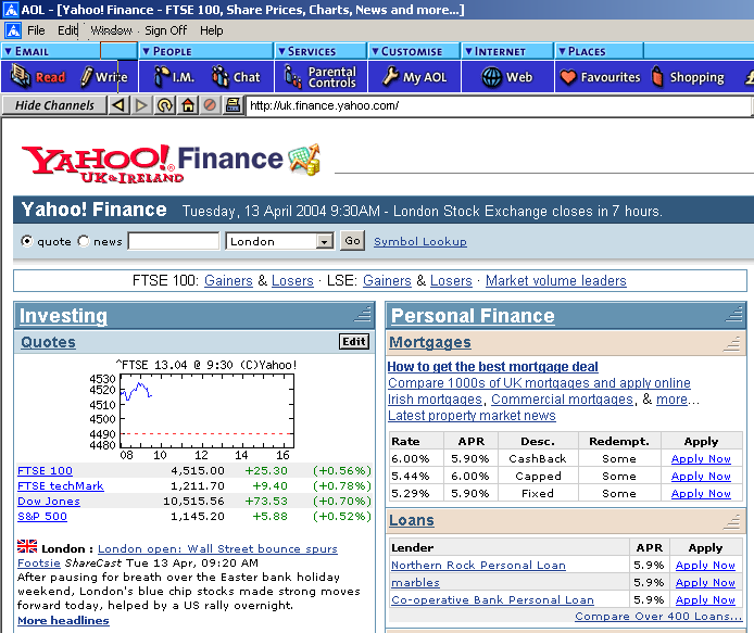 Yahoo! Finance provides a variety of RSS feeds on various finance news topics including top stories most viewed stories stories by industry and sector