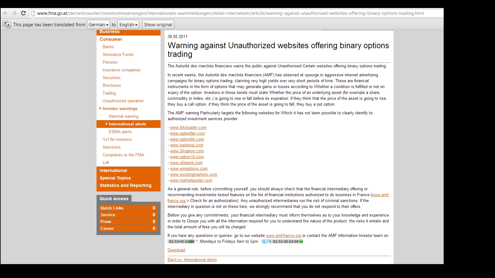 Cftc trade options form