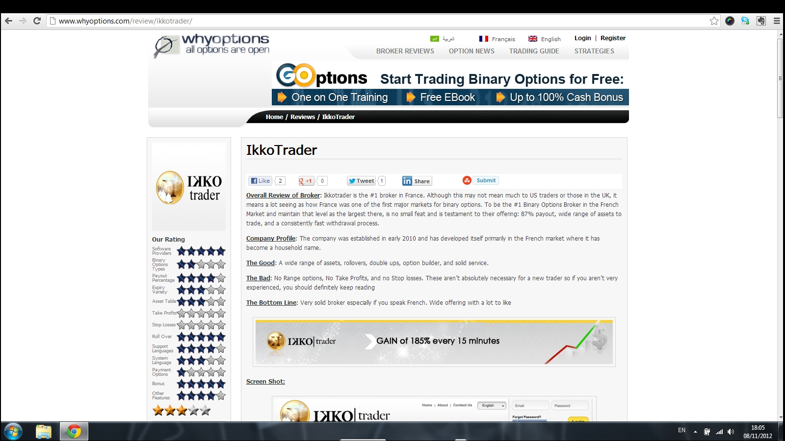 binary options scam singapore