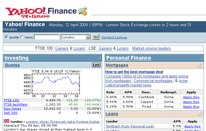 Yahoo finance historical forex data
